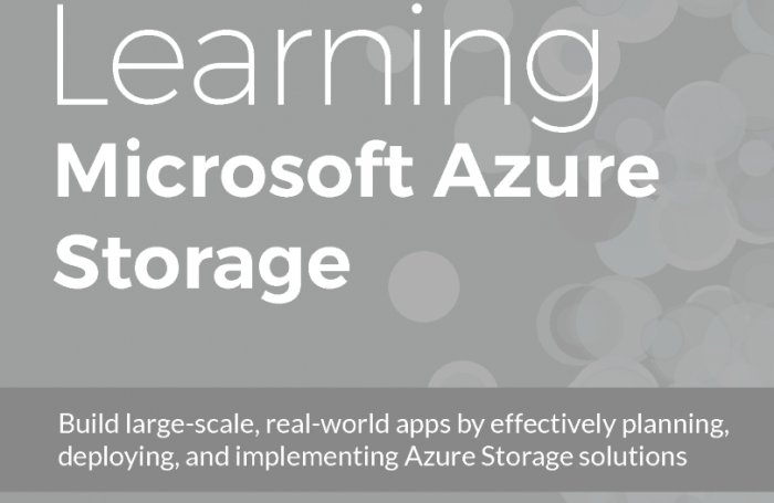 Learning Microsoft Azure Storage