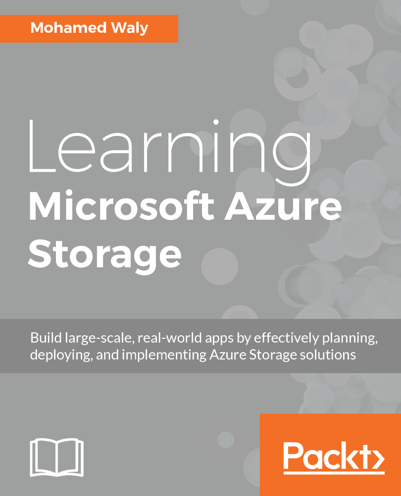 Learning Microsoft Azure Storage