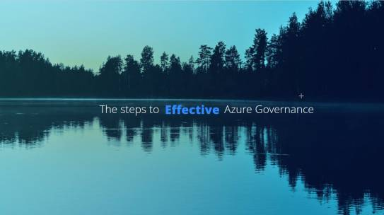 PolarConf: The slides of my session The steps to effective Azure governance